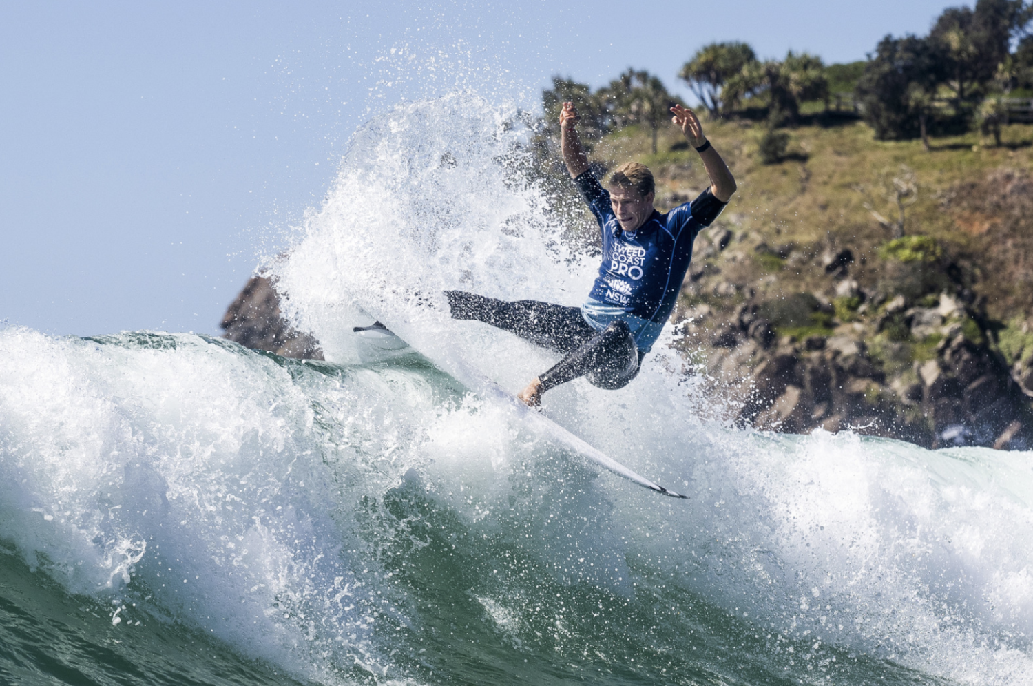 Ethan Ewing taking out the Tweed Coast Pro with an amazing display of surfing.