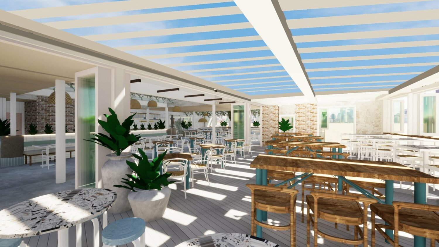 Surfers Pavilion a new waterfront oasis opening soon