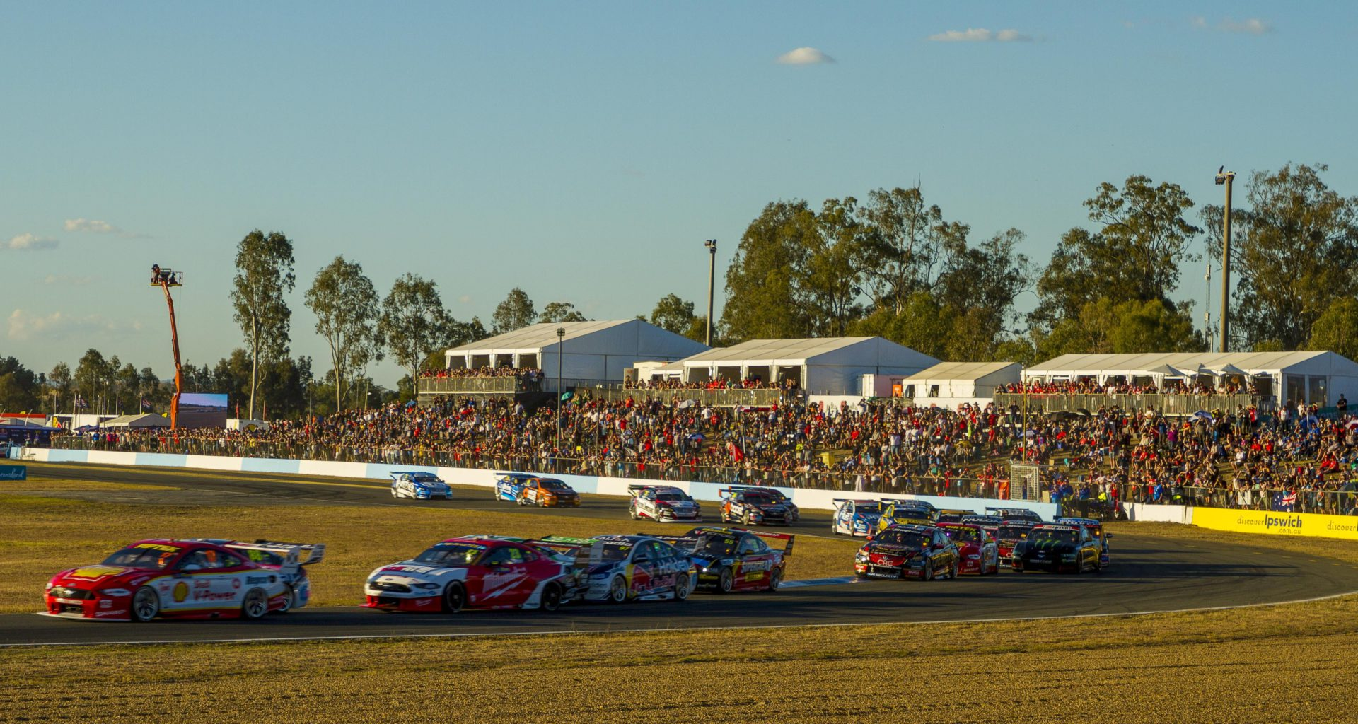 Supercars confirms possible return to Queensland Raceway