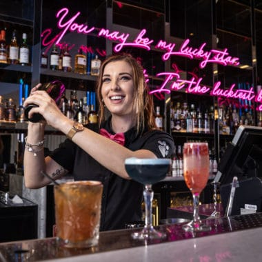 The Atrium Bar has re-opened with a new look and locale